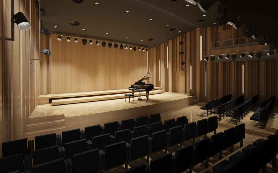 FRYDERYK CHOPIN MUSICAL UNIVERSITY IN WARSAW RENOVATION