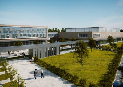 EDUCATION AND SPORT COMPLEX IN STRYKÓW